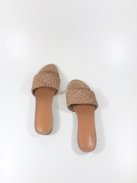 a over a shoes cleo SANDAL - dark blush