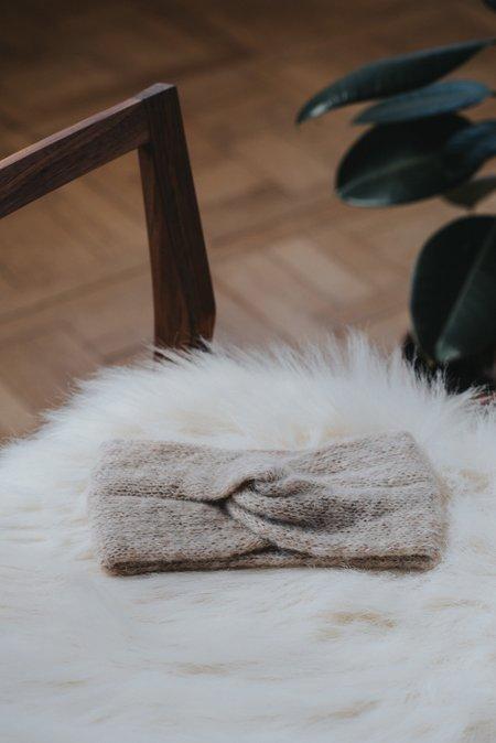 Alma Knitwear Kirke Alpaca Silk Earwarmer
