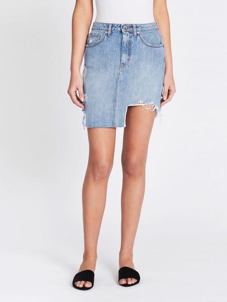 IRO Peace Skirt - Denim Blue