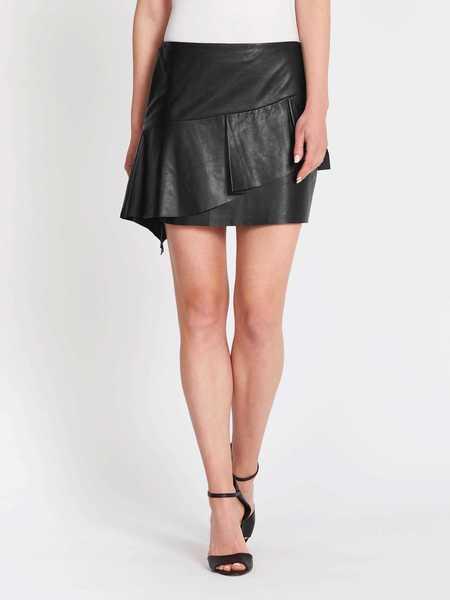 Joie Botan Short Skirt - Black