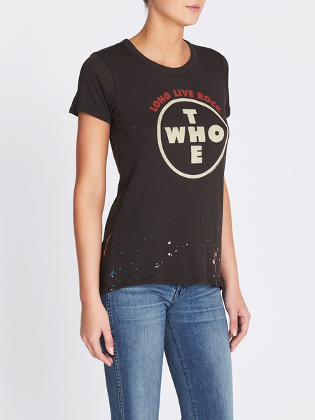 Chaser LA The Who Long Live Rock Tee - Vintage Black