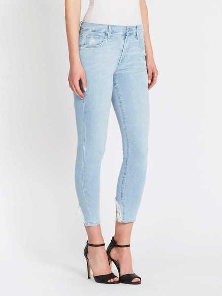 J Brand 835 Mid-rise Crop Skinny Jeans - Sky Destruct