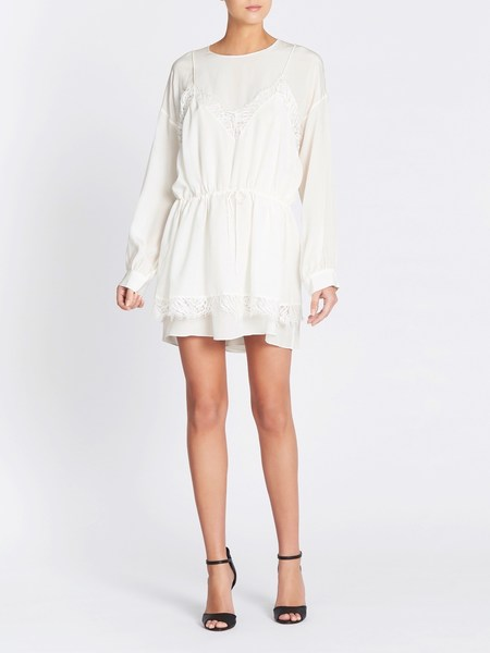 IRO Hassle Dress - Ecru