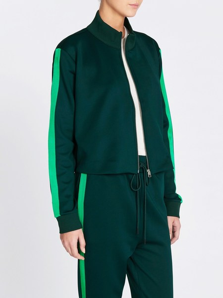C & M Camilla And Marc Arie Track Jacket - Hunter Green