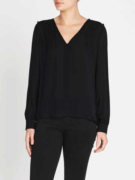 Paige Aurinda Top - Black