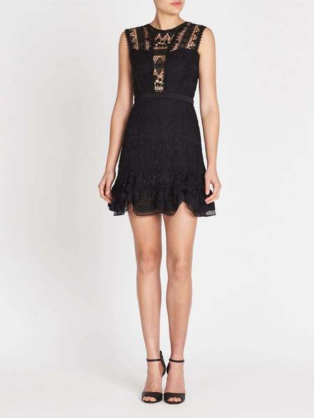THREE FLOOR Not Basic Black Dress - Black