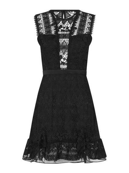 THREE FLOOR Not Basic Black Dress - Black