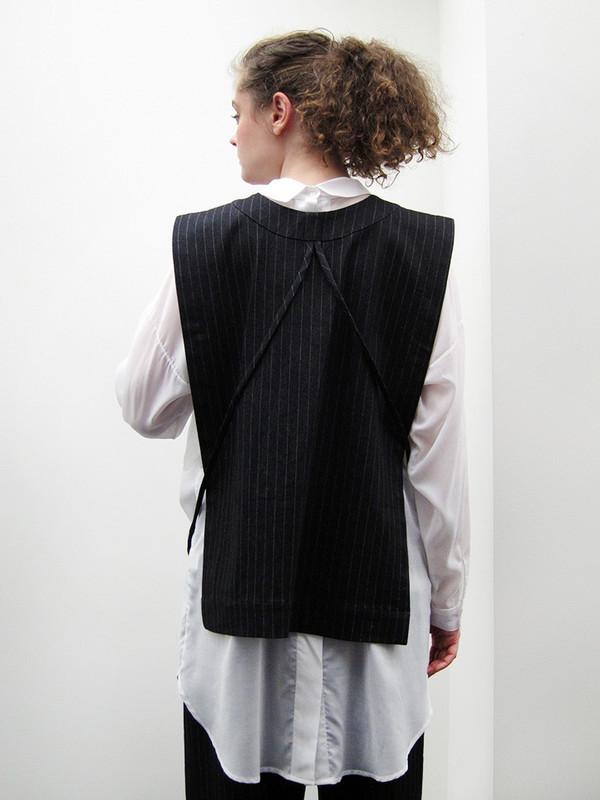 Rowena Sartin Apron Vest   Back Loop