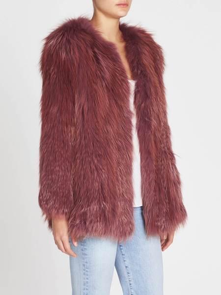 H Brand Blair Coat - Raspberry