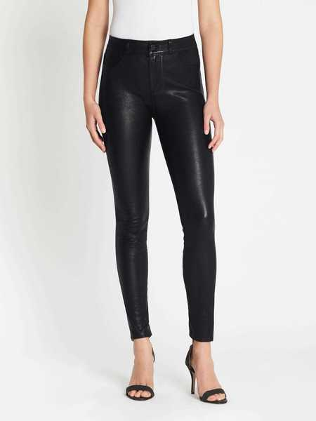 Paige Hoxton Stretch Leather Pant