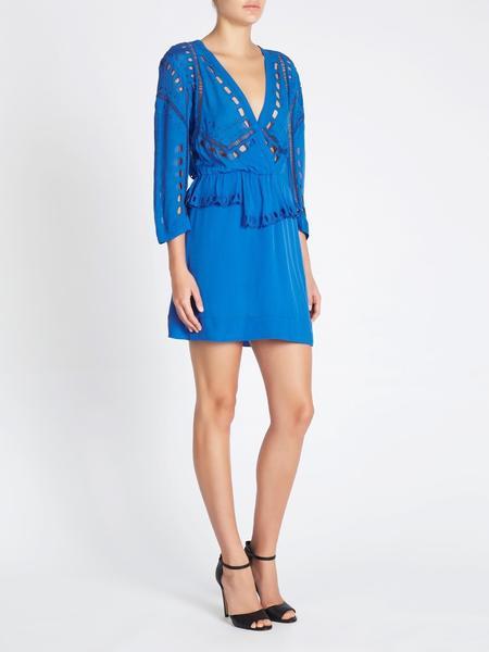 IRO Powye Dress - Blue