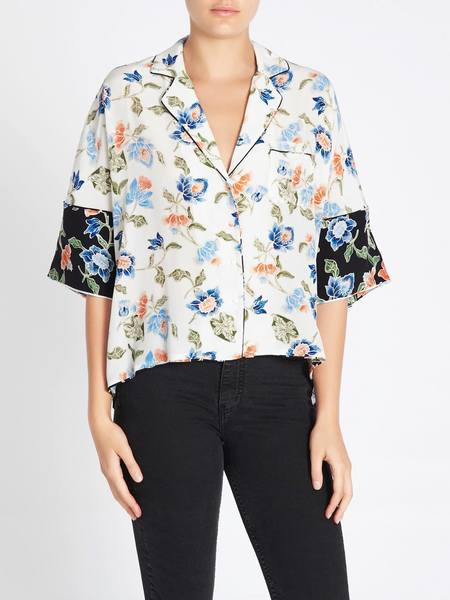 Joie Desmonda Shirt - Tropical Print