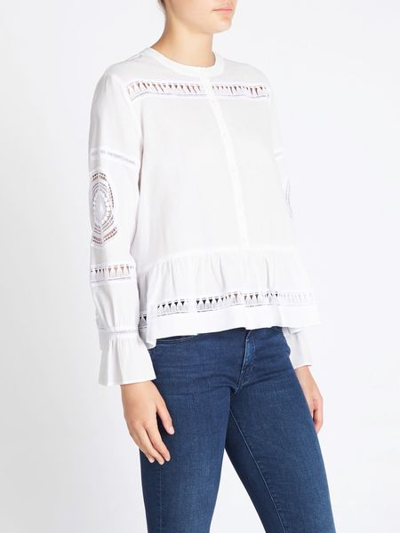 MiH Jeans Romney Top - White