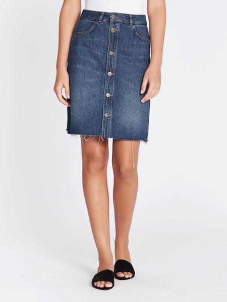 MiH Jeans Nova Skirt - Blue