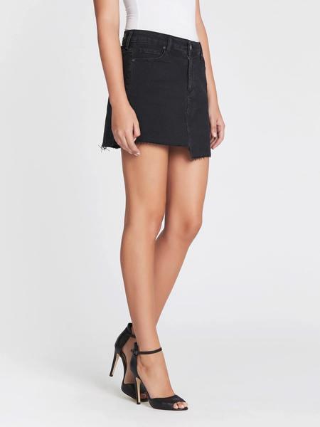 Paige Denim Afia Skirt - Vintage Noir