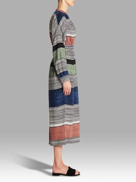 Mara Hoffman Fannie Dress - Striped Formation Print