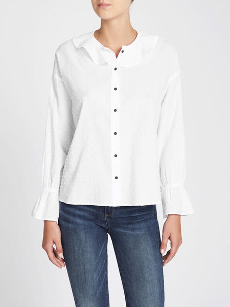 MiH Jeans Half Moon Shirt - White