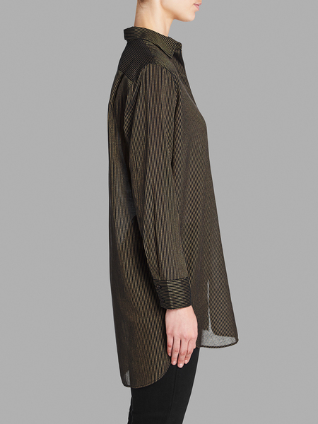 MiH Jeans Oversize Shirt - Navy/Gold