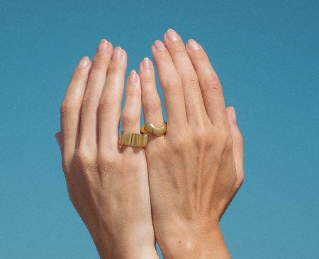 Luiny Onda Ring