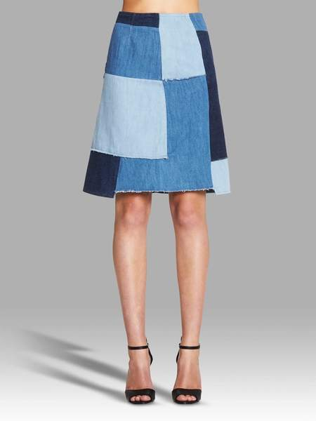 MiH Jeans Turo Skirt - Washed Blue