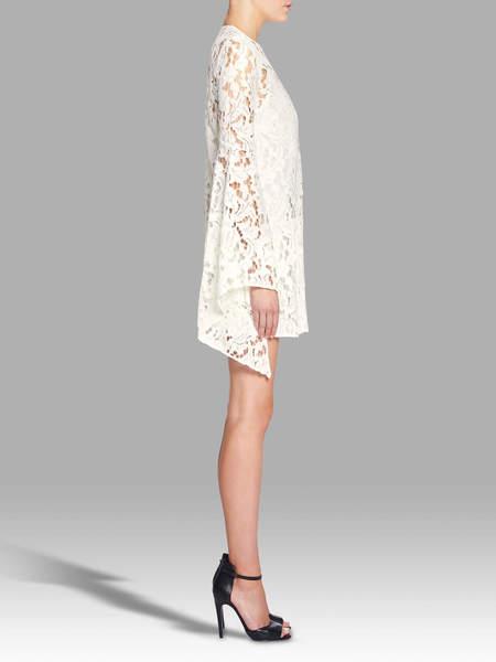 Camilla and Marc Farrow Mini Dress - ECRU