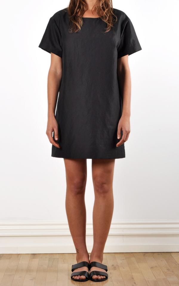 Waltz Drop Shoulder T-shirt Dress