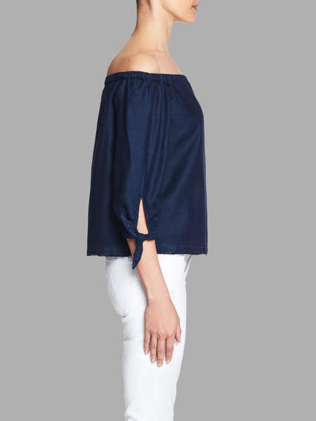 Paige Antonia Top - Deep Blue