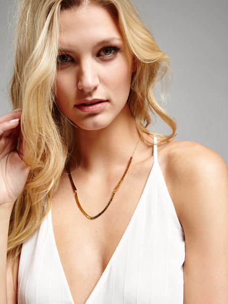 Gorjana Amanda Necklace - Gold