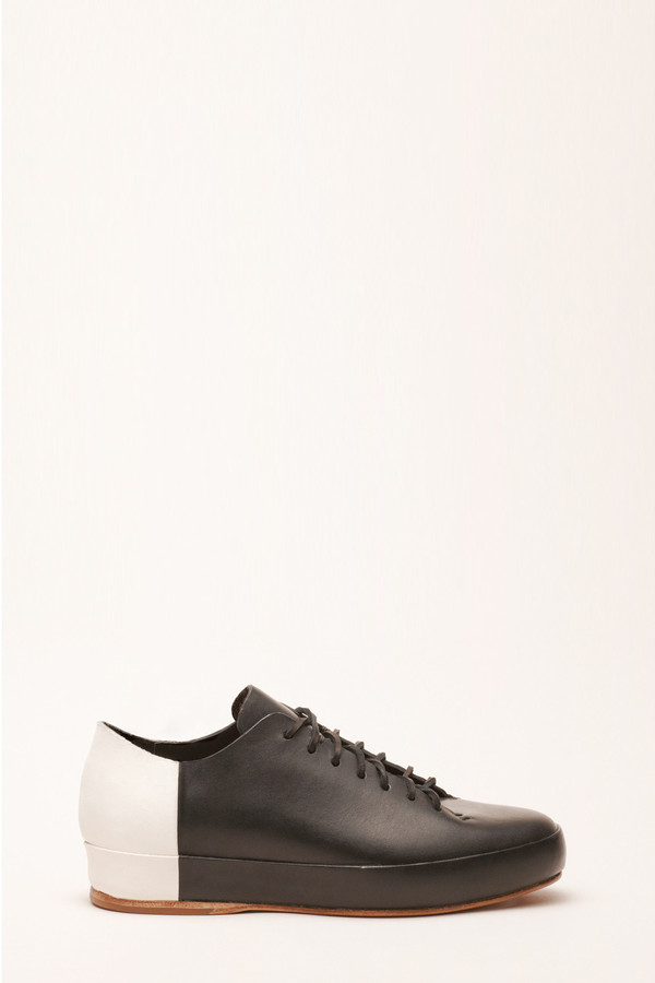 Men's FEIT BiColor Low Black White Shoe