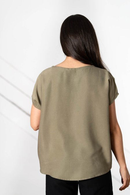 Only Child Alta Top - Olive