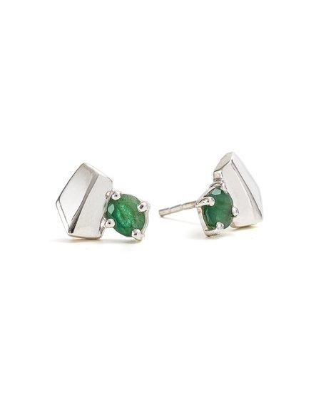 Cathy Pope Emeralds Earrings
