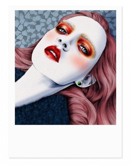 Kelly Thompson Holly Rose Art Print