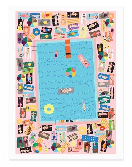 Rude Pool Art Print