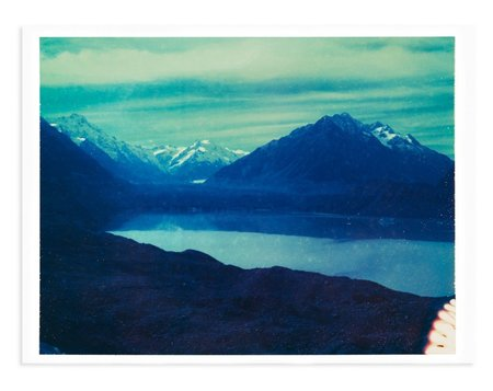 Adam Custins South Glacier Art Print