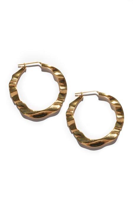 Flash Jewellery XL Haze Hoops - GOLD