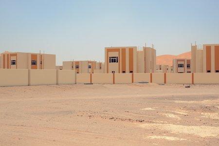 Chris Sisarich Yellow Houses - Abu Dhabi