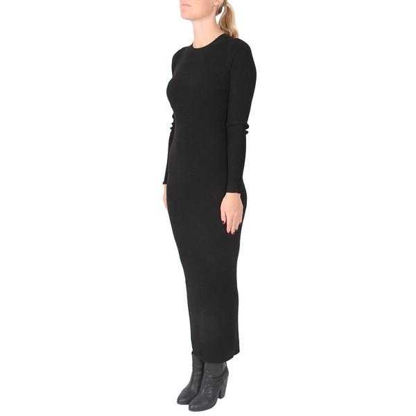 ADRELLANA EVIAN STRETCH WOOL-BLEND RIB DRESS