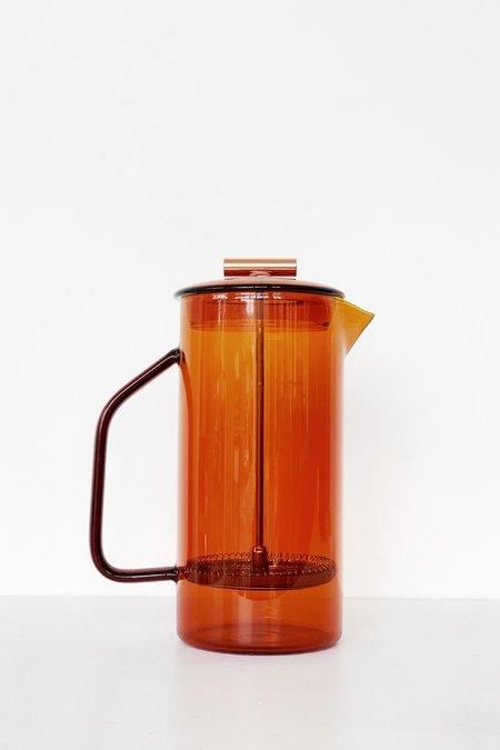 Yield Glass French Press - Amber
