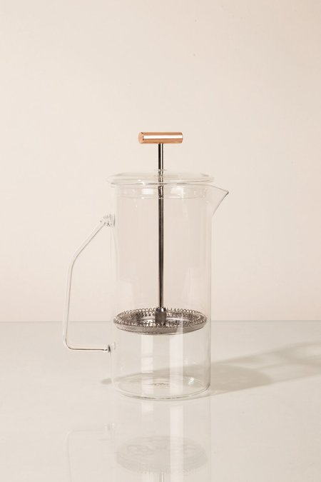 Yield Design Co Glass French Press - Clear