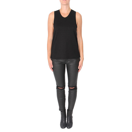 T by Alexander Wang French Terry Racerback Tand Top