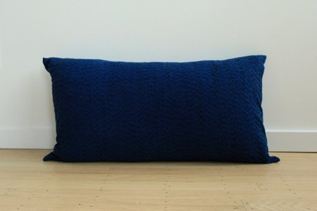 Anara Umbra Lumbar Pillow - Indigo