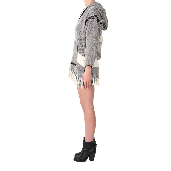 KOZA Baja Fringe Hooded Top