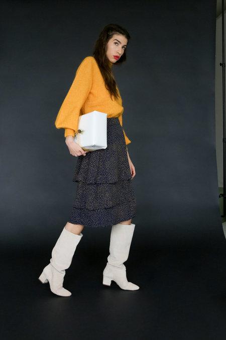 Just Female Hana Skirt - Dot Mix AOP