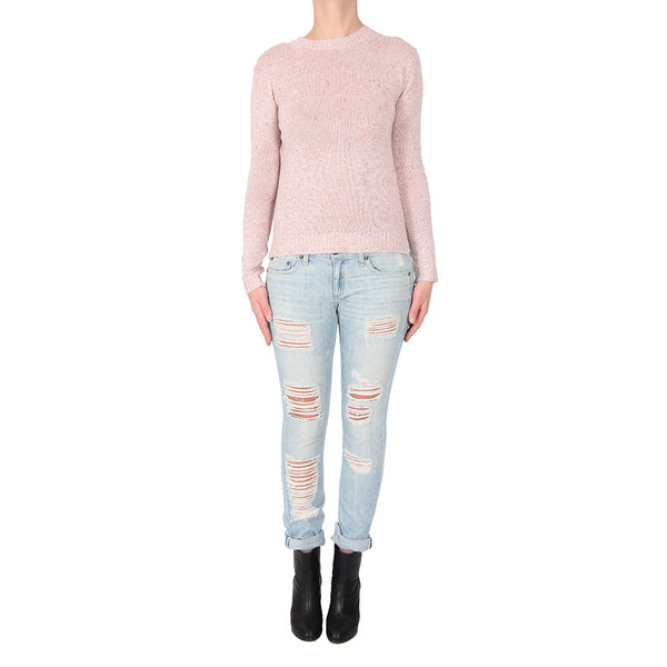 Doffer Boys Linen Crewneck Sweater