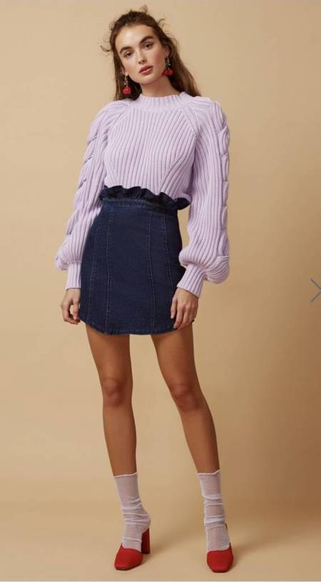 Finders Keppers Knit Top - Linear