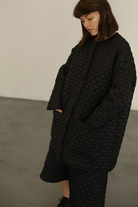 R/H Studio Bobi Coat - Black