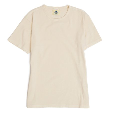 Sunshine Blues T-shirt - CREAM