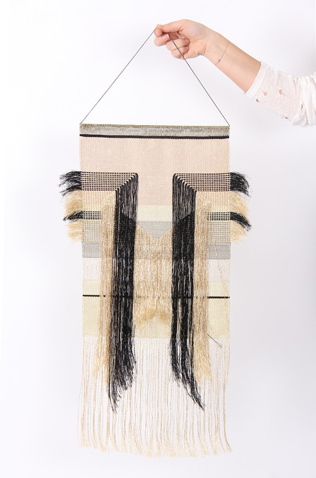Native Line Diamond Wall Hanging