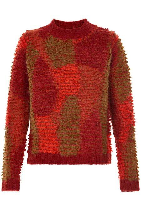 Nümph Fayola Pullover - red dahlia