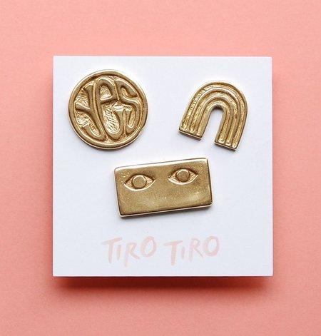 Tiro Tiro Positive Pin Set - BRASS